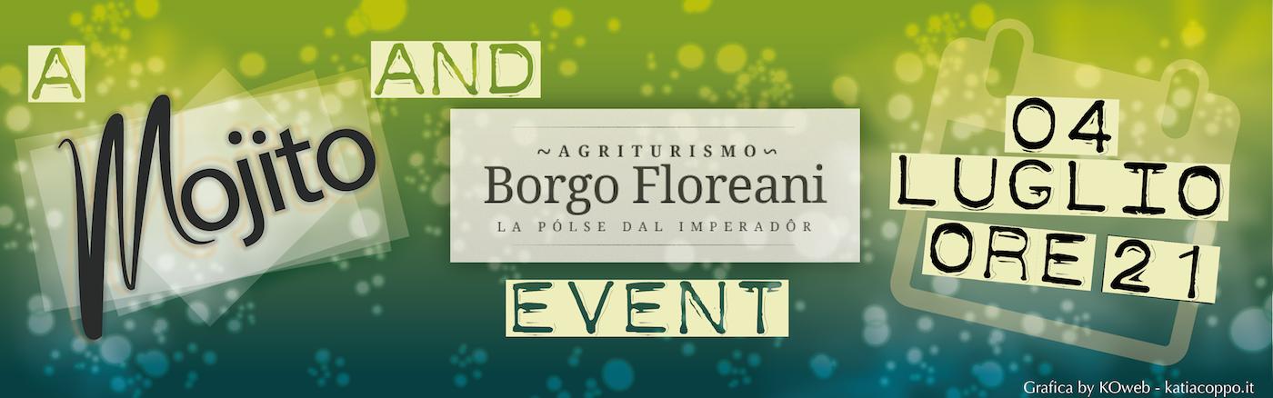 Locandina evento Borgo Floreani